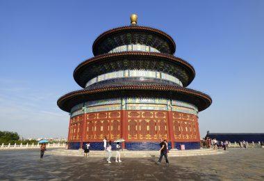 Świątynia Nieba inaczej Ołtarz Nieba, Tian Tan została zbudowana między 1406 a 1420 rokiem.