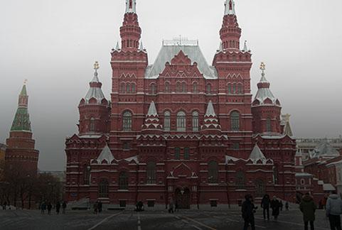 Państwowe Muzeum Historyczne założone w 1872 roku i znajduje się na Placu Czerwonym.