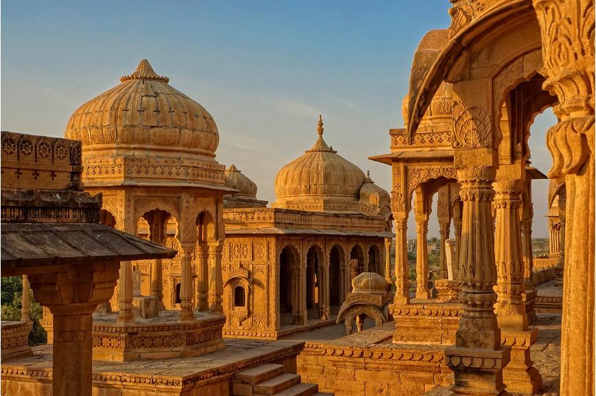 Starożytne budowle w Indiach